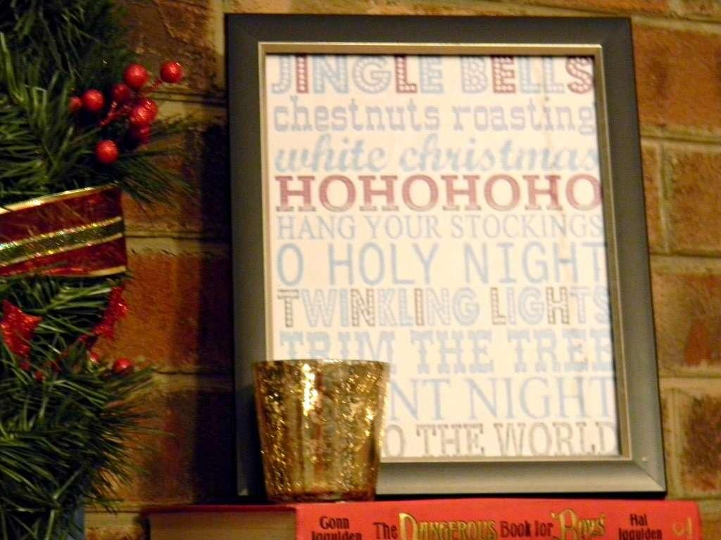 Christmas mantel 2012 (4)
