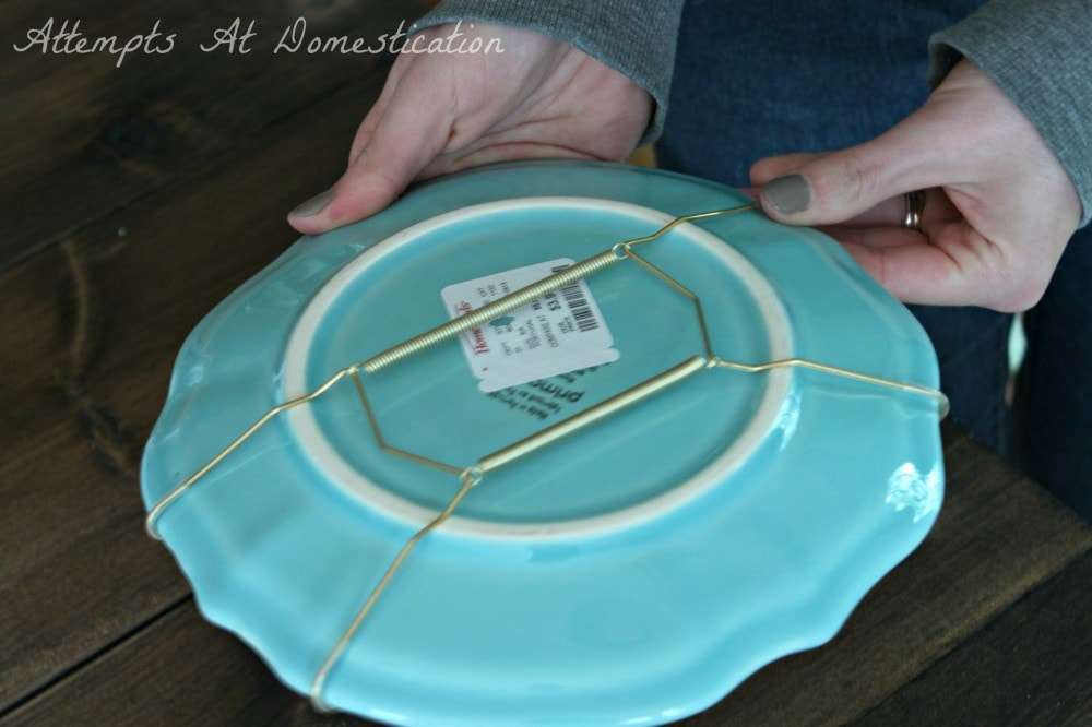 Hanging Plates On Wall just the beginning -
