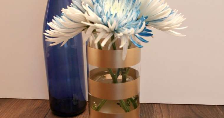Gold Dipped Vase Archives