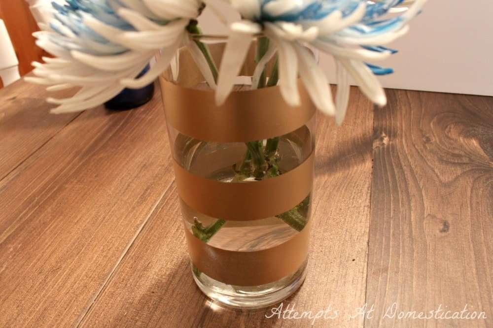 metallic-gold-striped-vase