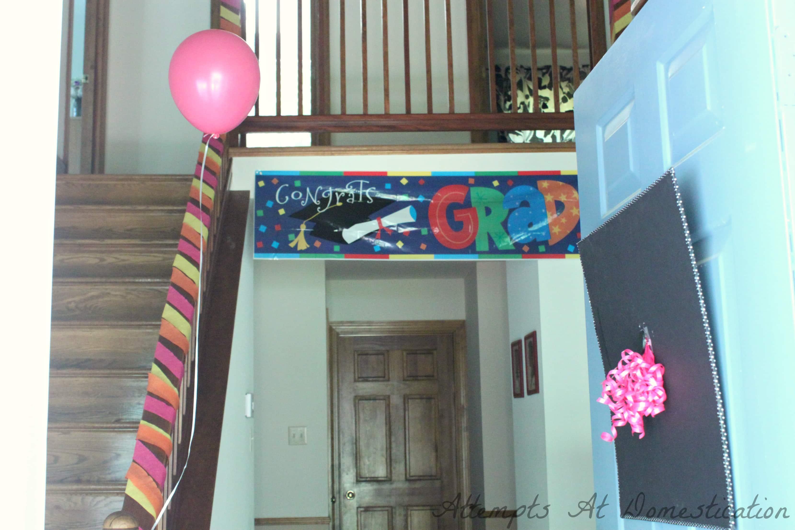 High School Graduation Party Decoration Ideas
