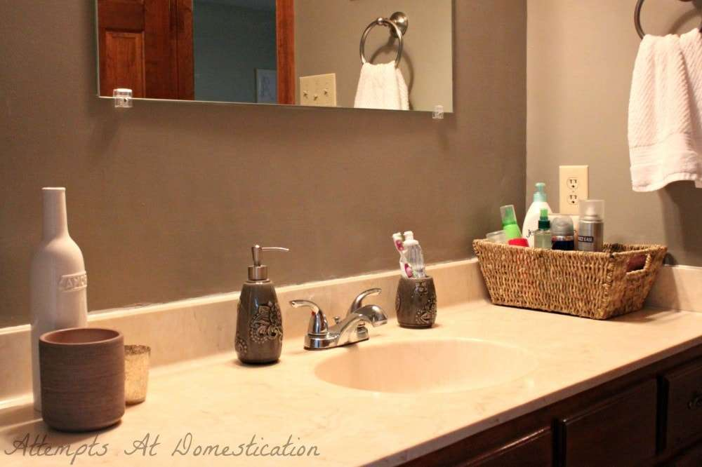 master bathroom changes