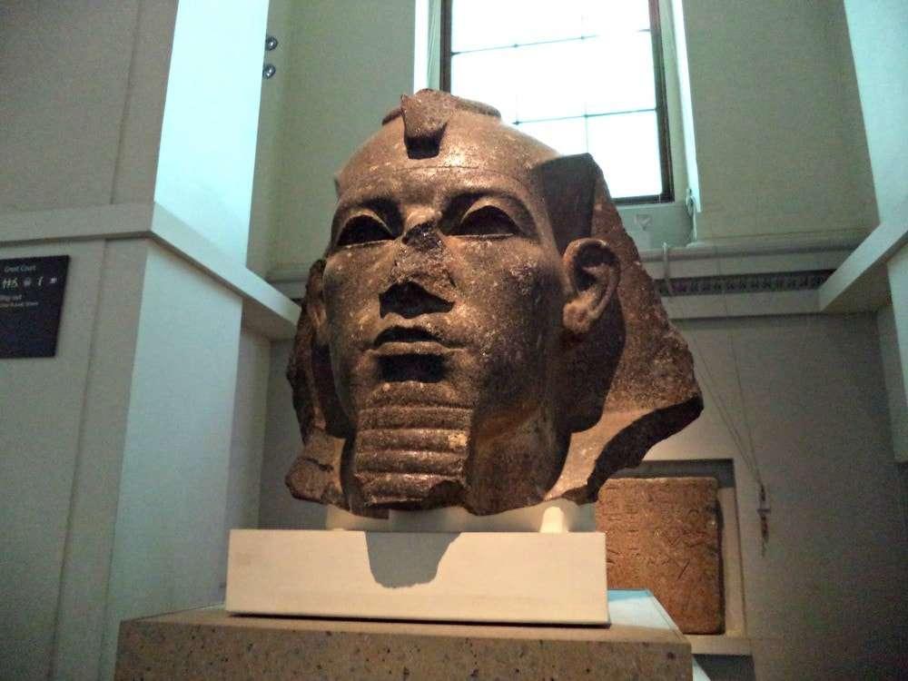 London - British Museum pharoh