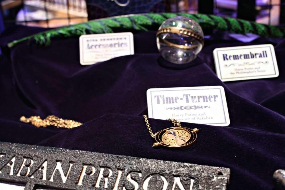 London - Harry Potter props