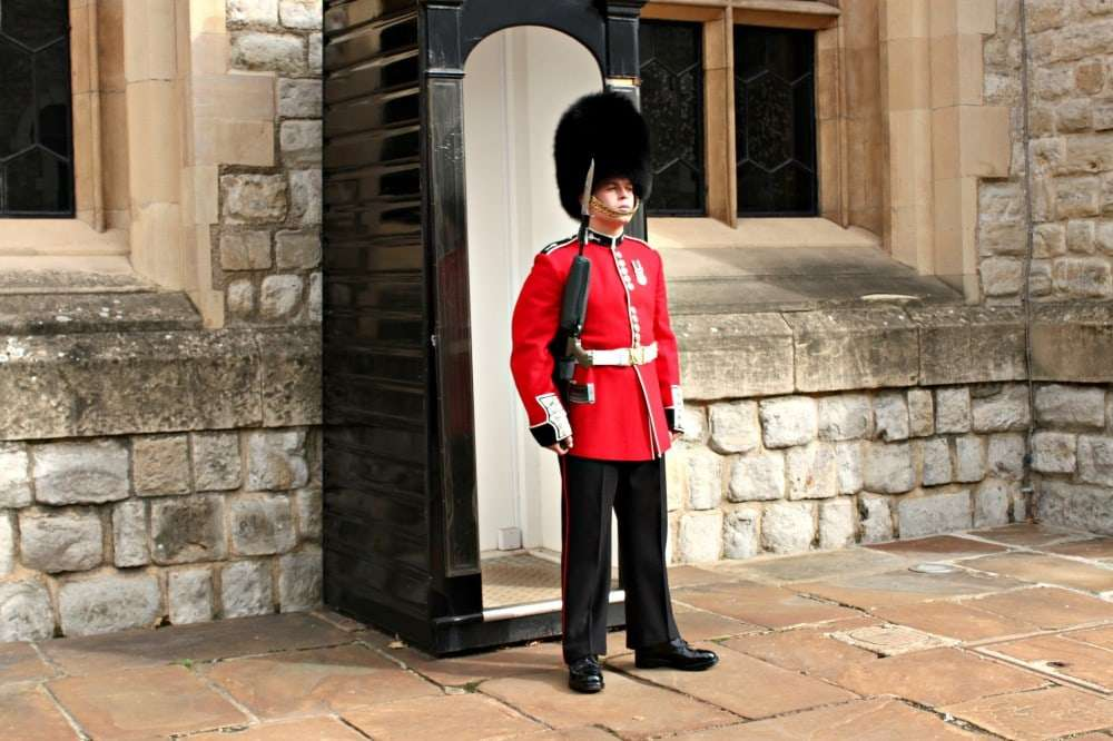 London - Tower of London guard