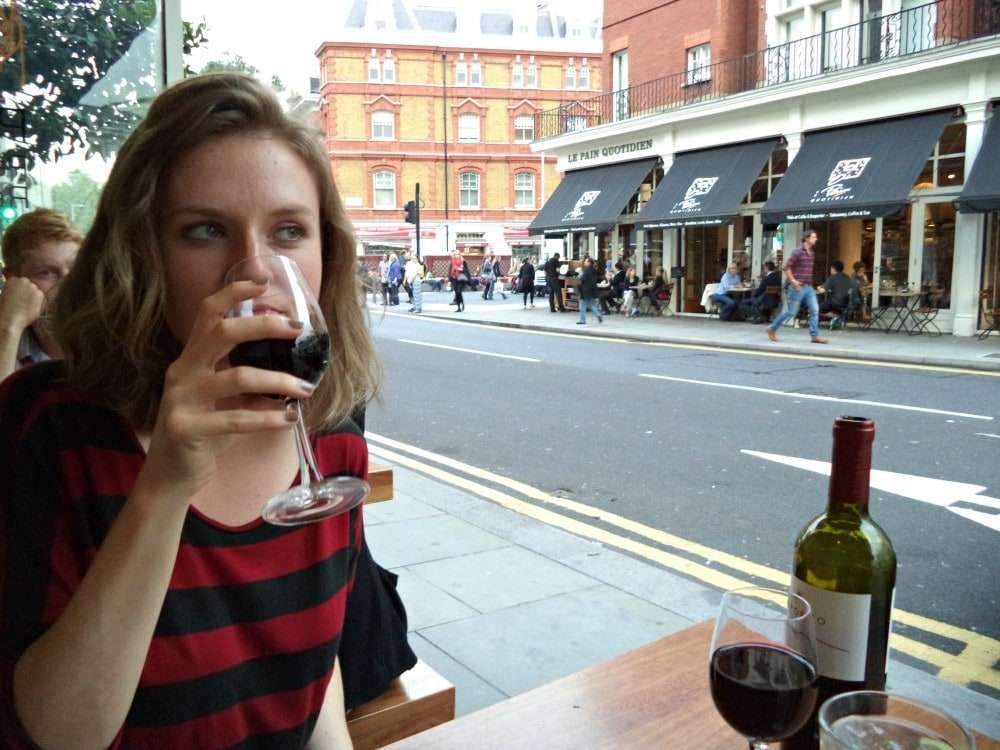 London - wine