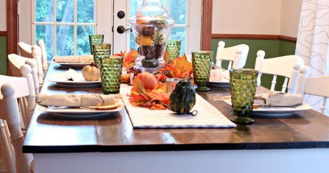 Tablescapes for Turkey Day