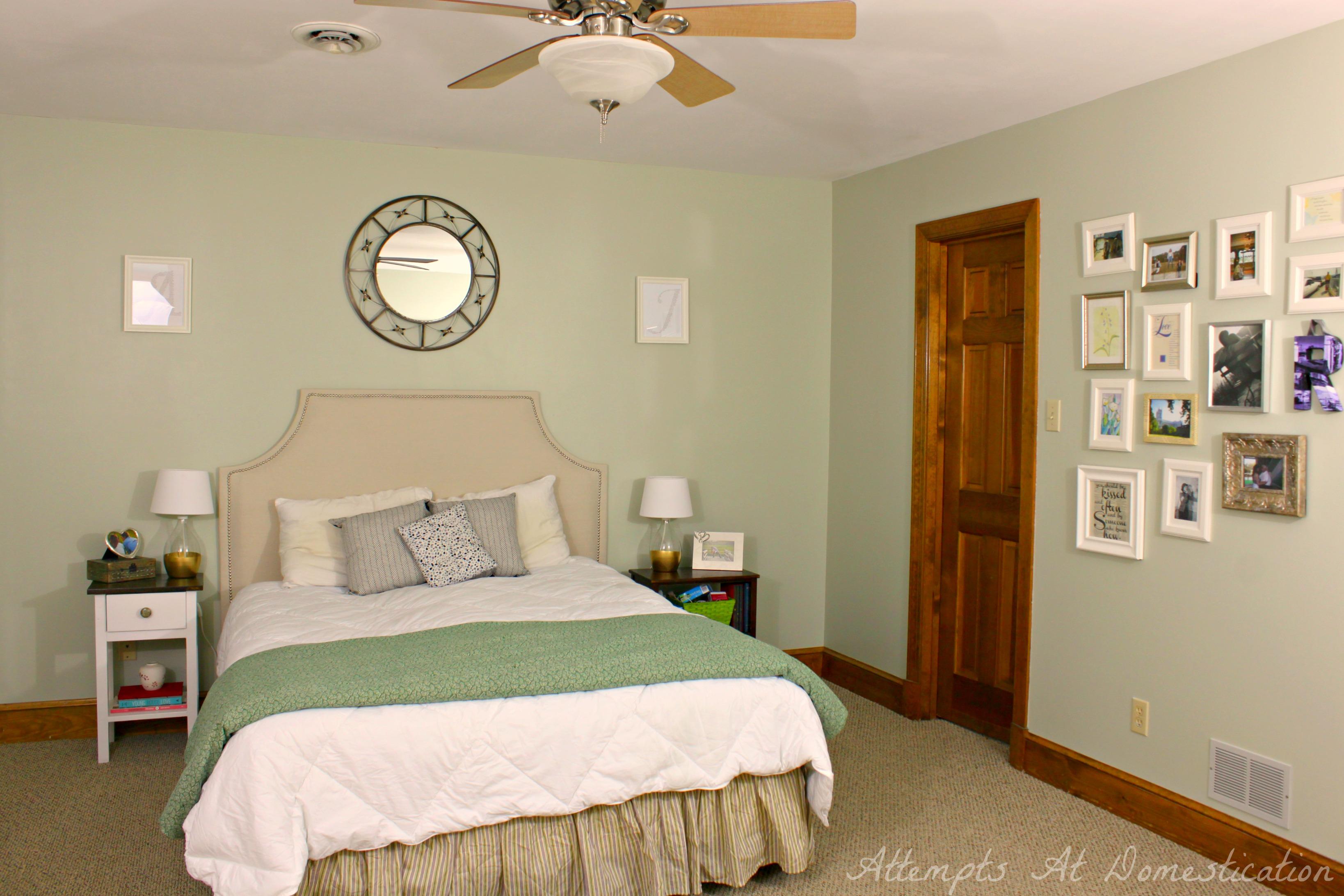 Master bedroom January 2014