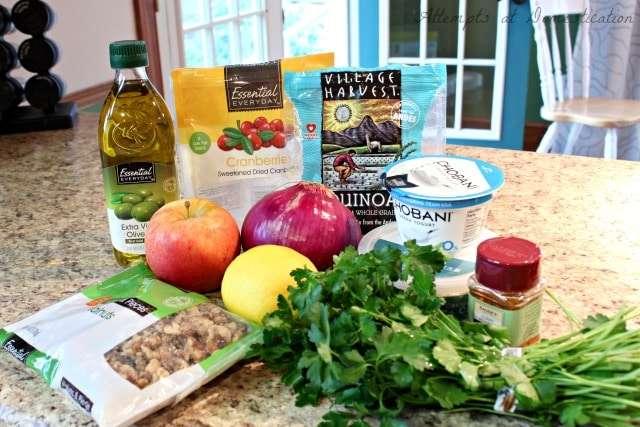 curry quinoa salad ingredients