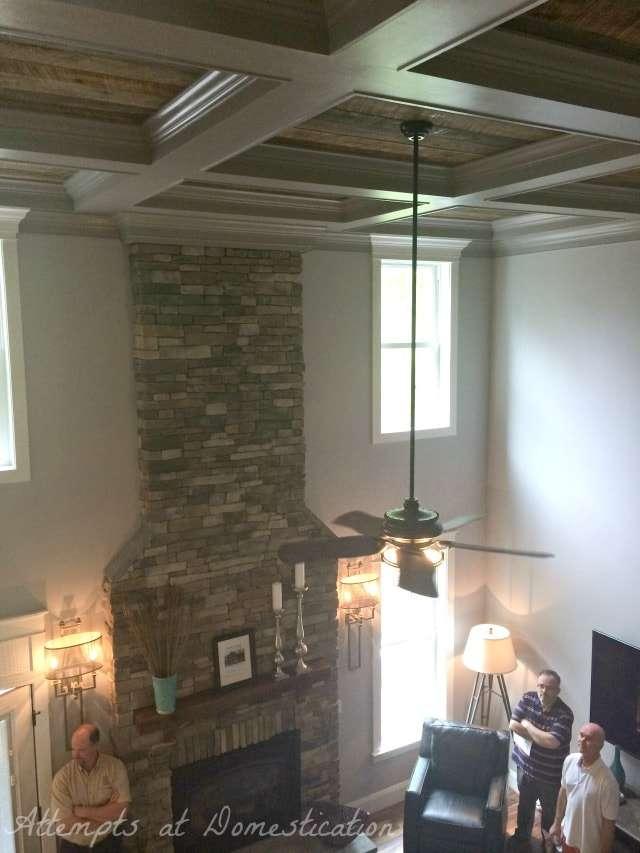 Ceiling fan dining room