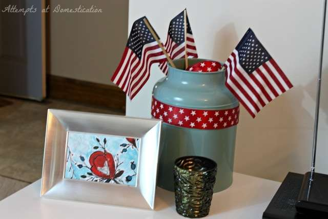 America party decorations - Living Room