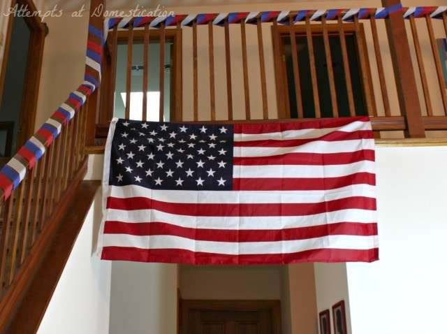 America party decorations
