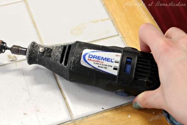 Dremel Sanding attachment