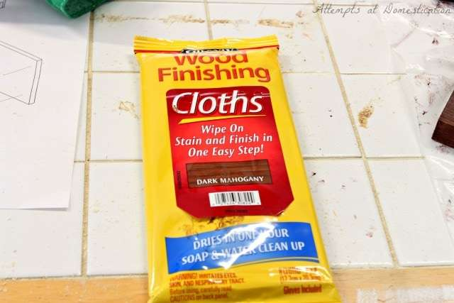 Minwax Stain Wipes