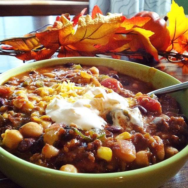 First chili of the season