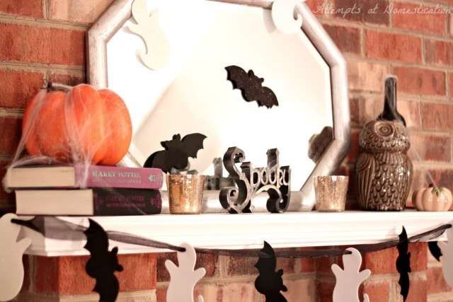 Halloween mantle 2014