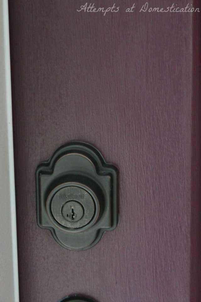 Modern Masters Playful front door