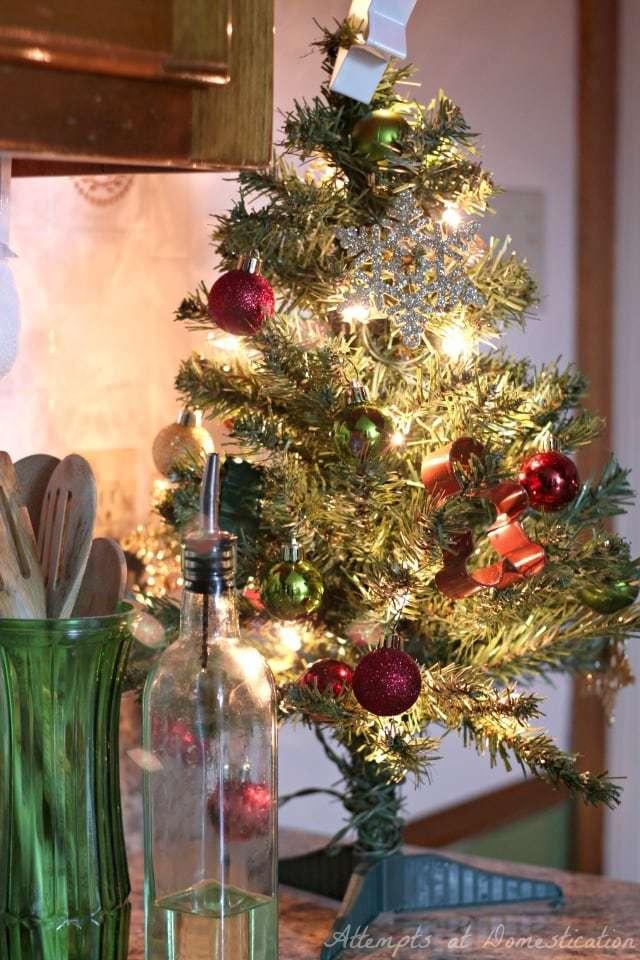 Kitchen mini tree