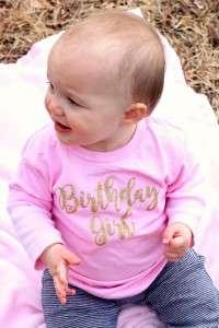 Mara - birthday girl shirt
