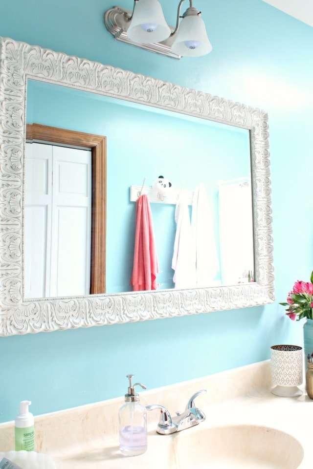 feminine bathroom mirror