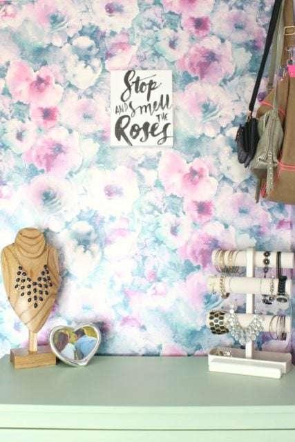 feminine closet space