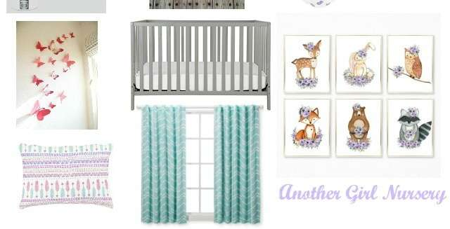 Plans for A Purple Baby Girl Nursery