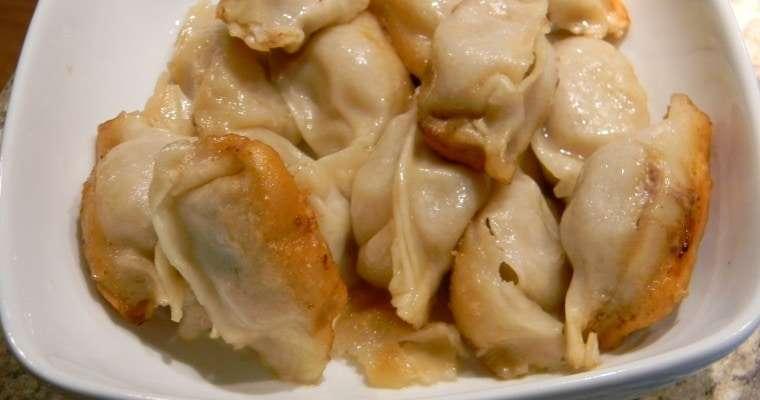 Homemade Pork Potstickers Recipe
