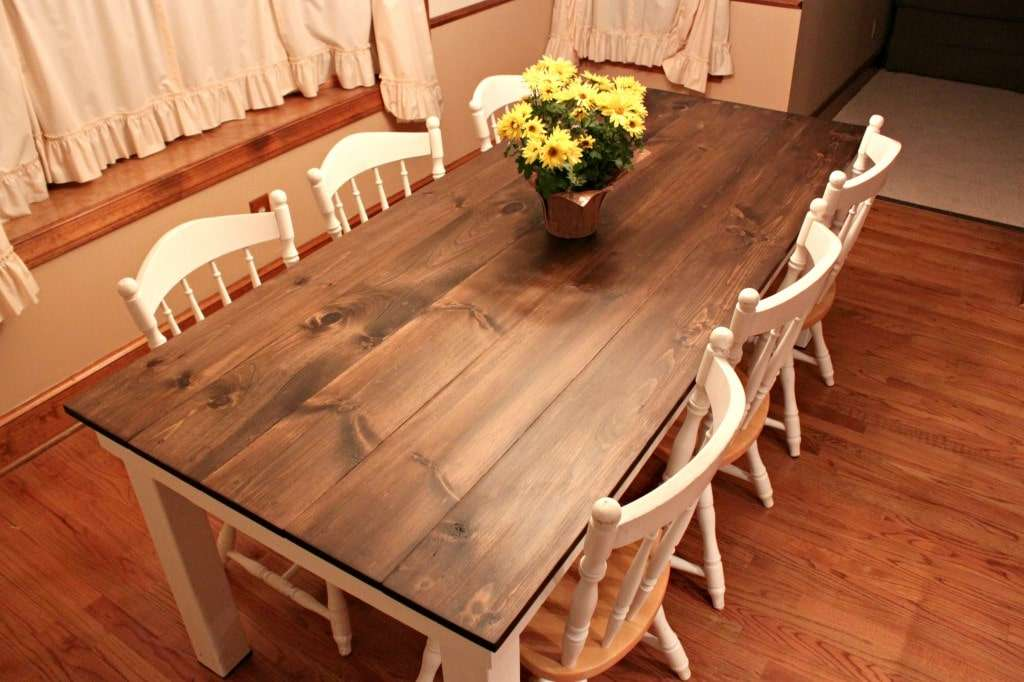 DIY Farmhouse Table - Attempts at Domestication