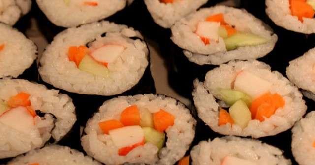How to Make Homemade Sushi – California, Avocado, Cucumber Rolls and a Sushi Rice Recipe