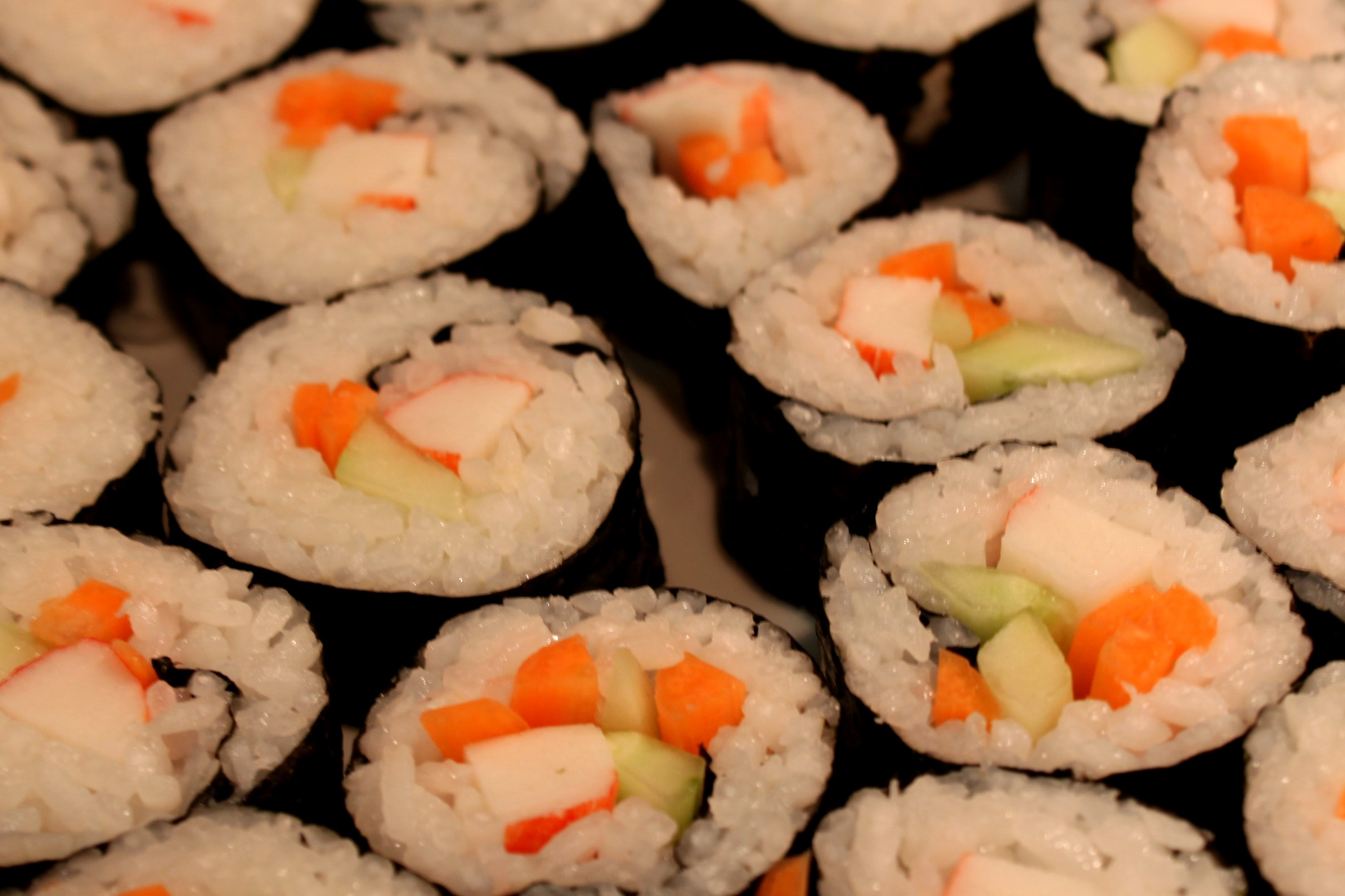 california sushi roll - Attempts at Domestication