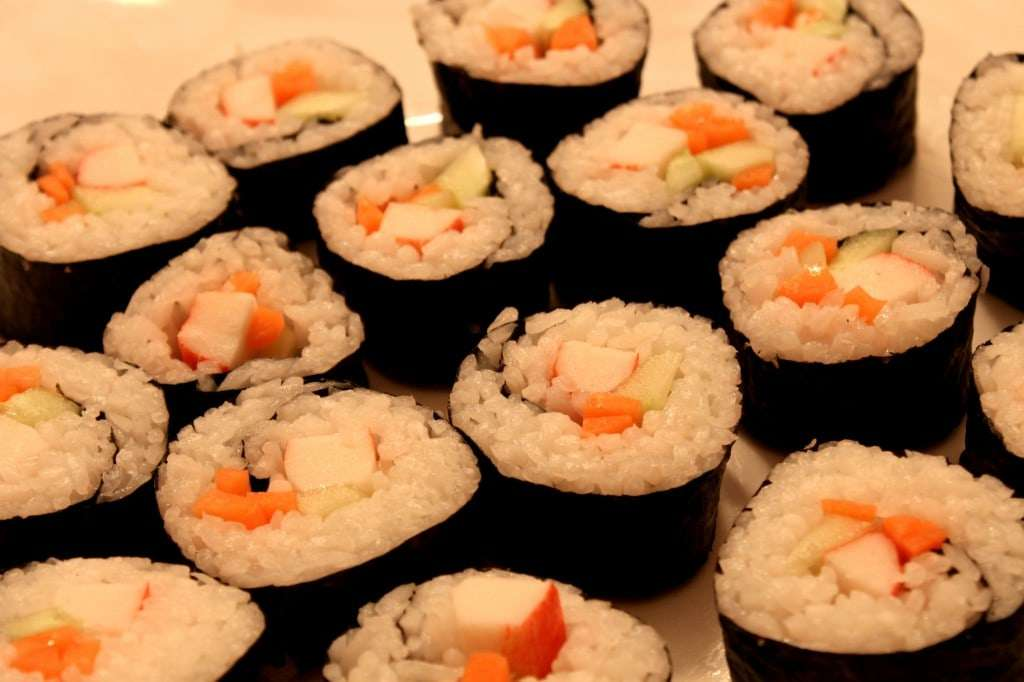homemade sushi roll5