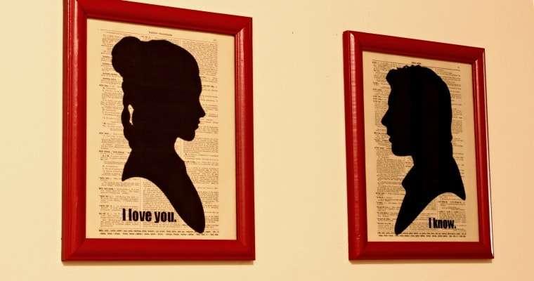 Nerd Love – Han and Leia Art