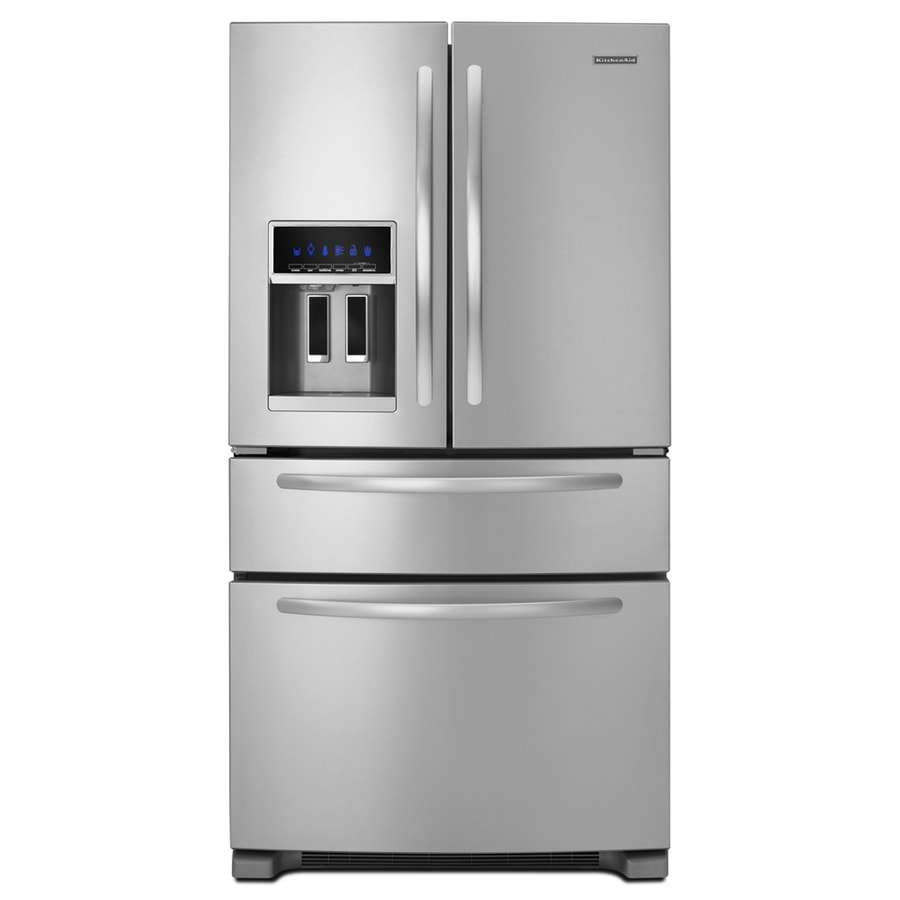 KitchenAid-4-door-fridge