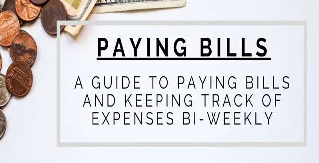 A Guide to Paying Bills and Keeping Track of Expenses Bi-Weekly