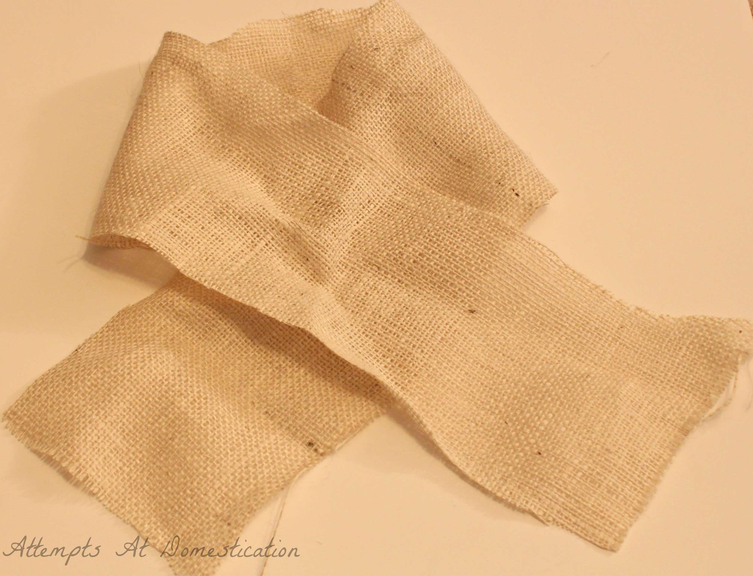 Diy burlap bow for Diy jute