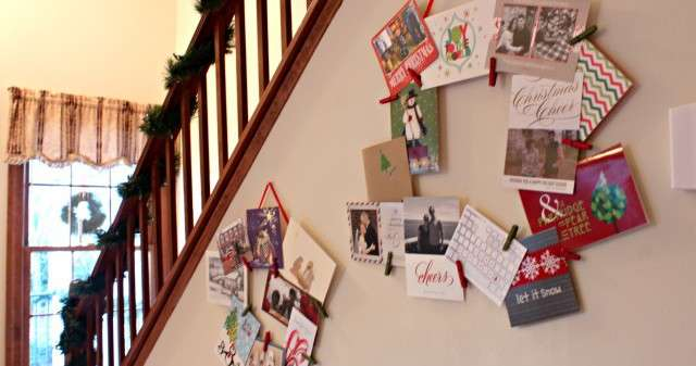 Holiday Card Display