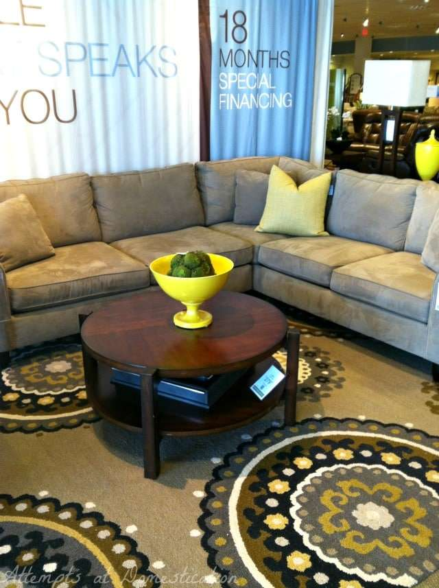 Amalfi sectional - in store