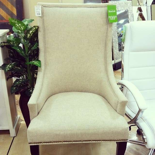 HomeGoods chair