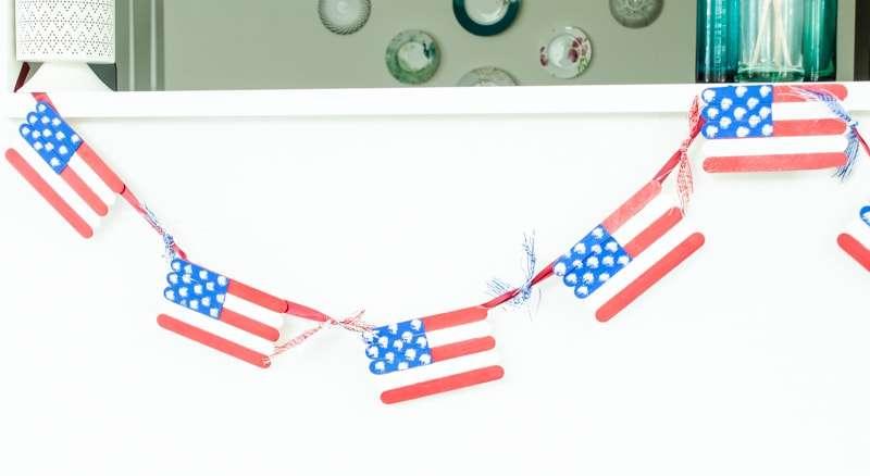 american flag craft