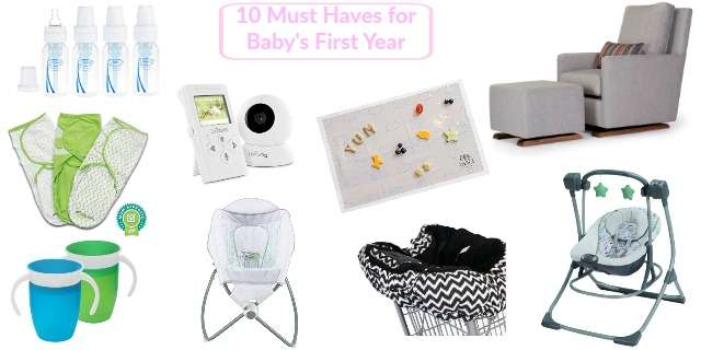 Must Haves for Baby's First Year