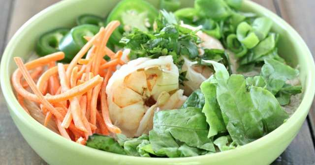 Simple Shrimp Pho