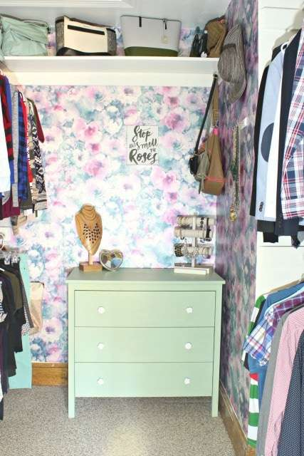 master walk-in closet makeover