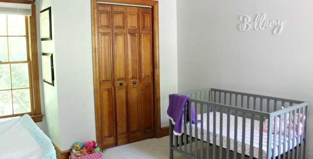 Baby Girl Nursery Progress and Sneak Peek