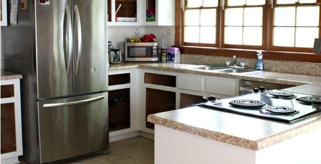 Painting Kitchen Cabinets: One Room Challenge – Kitchen   Week 2