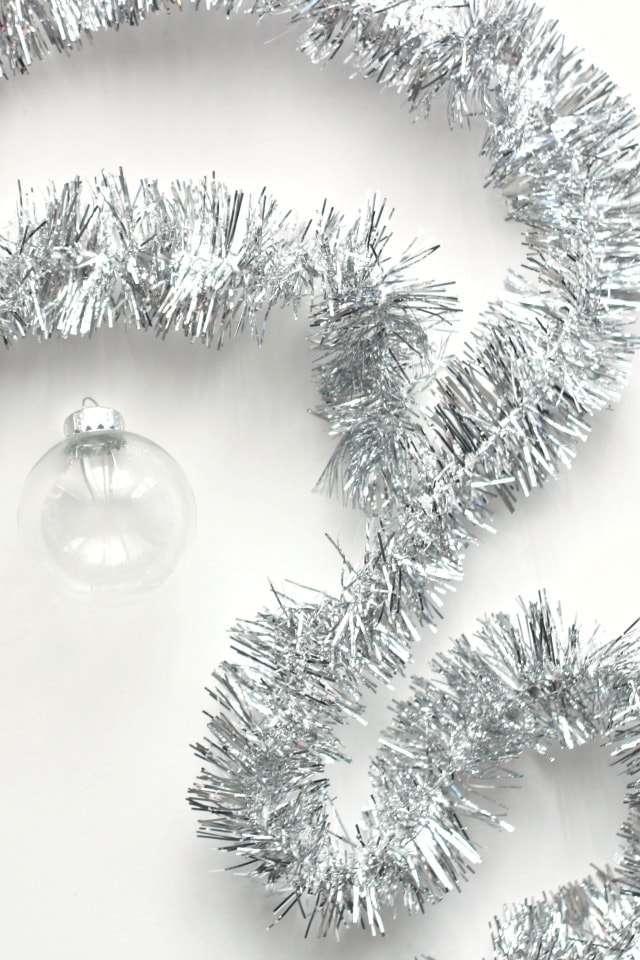 glass ball ornaments craft ideas