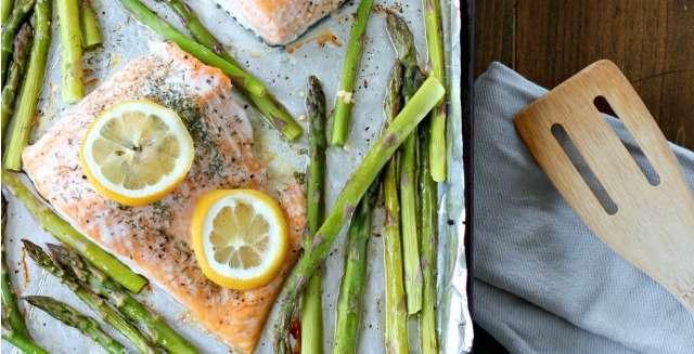 Lemon Dill Salmon Sheet Pan Dinner