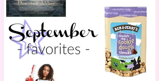 September 2019 Favorites