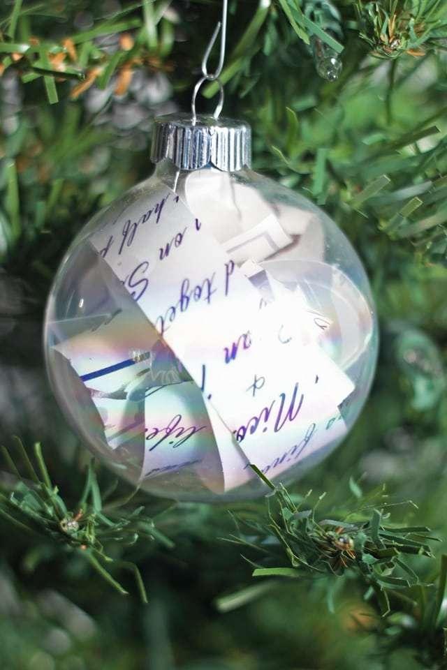 wedding invitation ornament craft