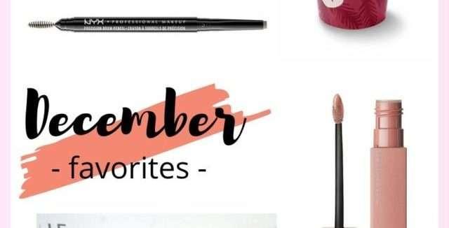 December 2019 Favorites