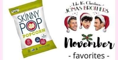 November 2019 Favorites